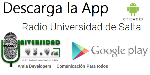 descarga la APP de la radio