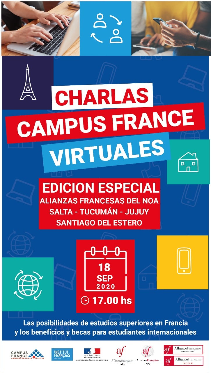 Charlas Campus France